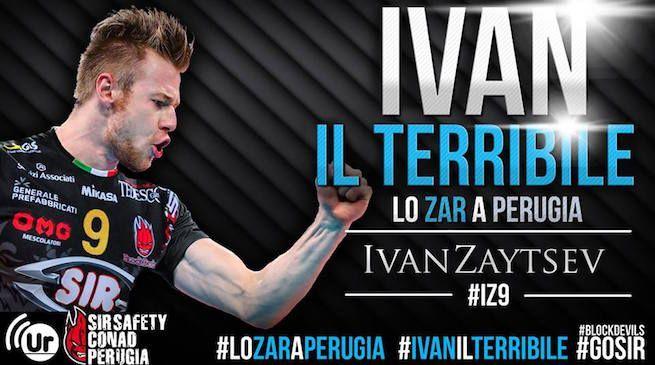 Bentornato a casa Zar! Bentornato in Italia, lo Zar lascia la gelida Russia per tornare in Italia, più precisamente a Perugia.