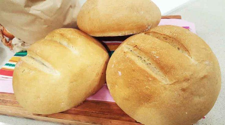 Aprende a preparar este exquisito pan casero ¡Es delicioso y no engorda como el pan de panadería!