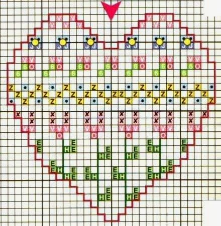 Art: Hearts Embroidery