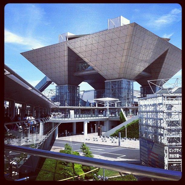 東京国際展示場 (東京ビッグサイト/Tokyo Big Sight) in 江東区, 東京都