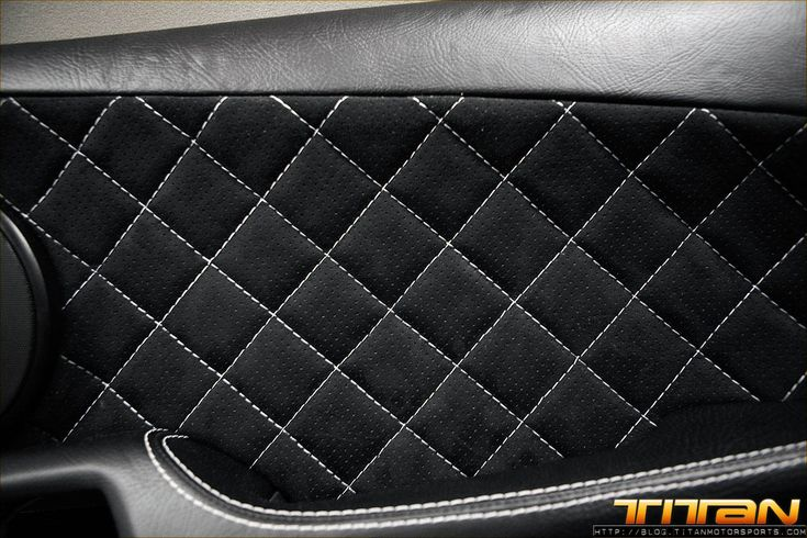 Custom Leather Car Seat Upholstery