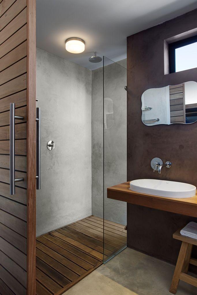 Windtown Langebaan Guest Suite Bathroom. Interior design by Source Interior Brand Architecture.