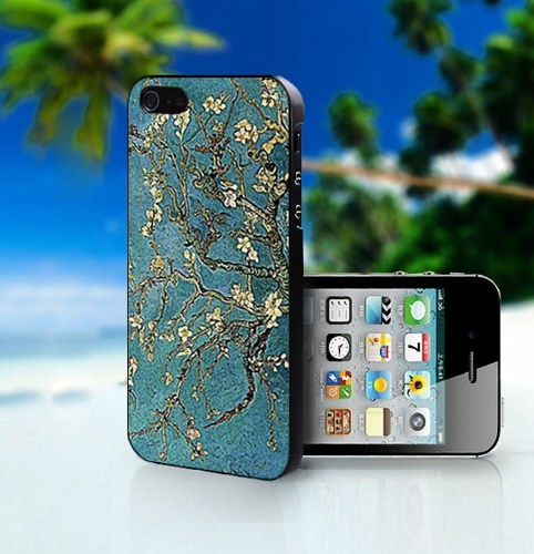 Van Gogh Almond Tree Inspired - Photo On Hard Cover For iPhone 4,4S