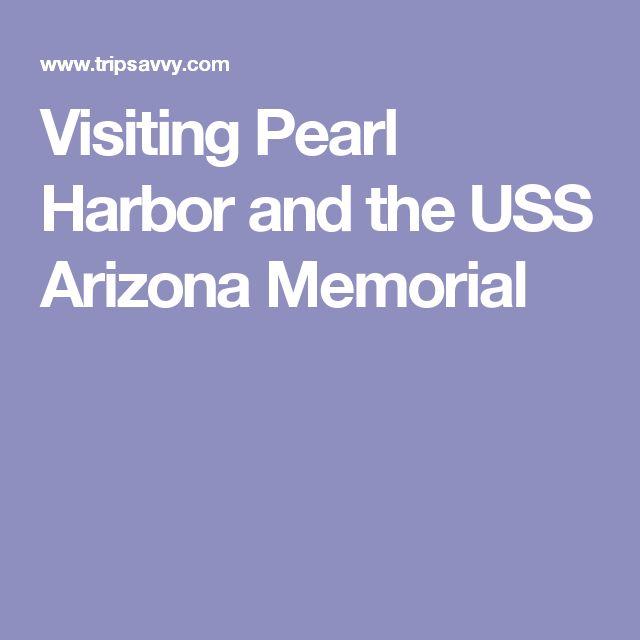 Visiting Pearl Harbor and the USS Arizona Memorial