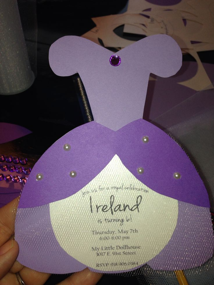 Sofia the First party invite
