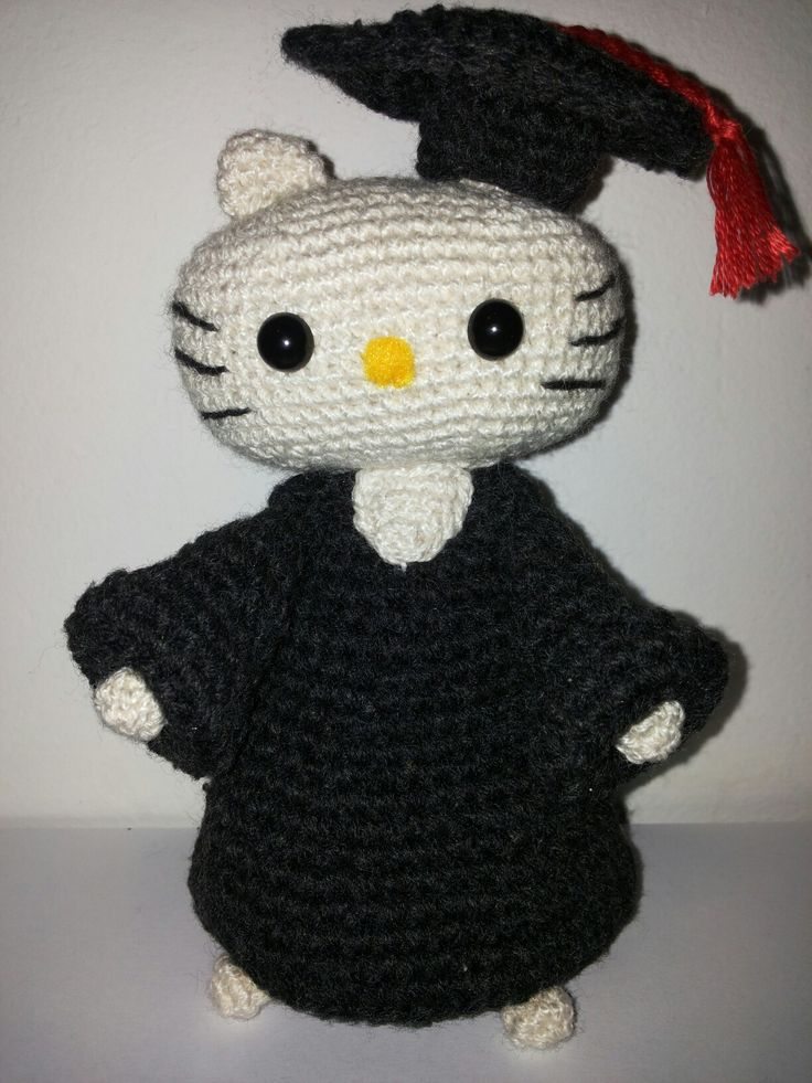Hello Kitty laurea, amigurumi