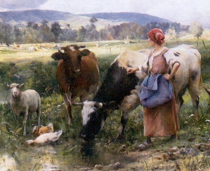 WORKING ON THE FARM, BY JULIEN DUPRE