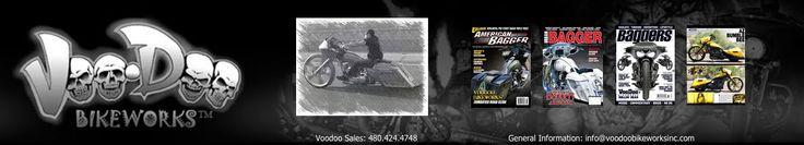 Voodoo Bikeworks | Bagger Parts | Custom Bagger Builds
