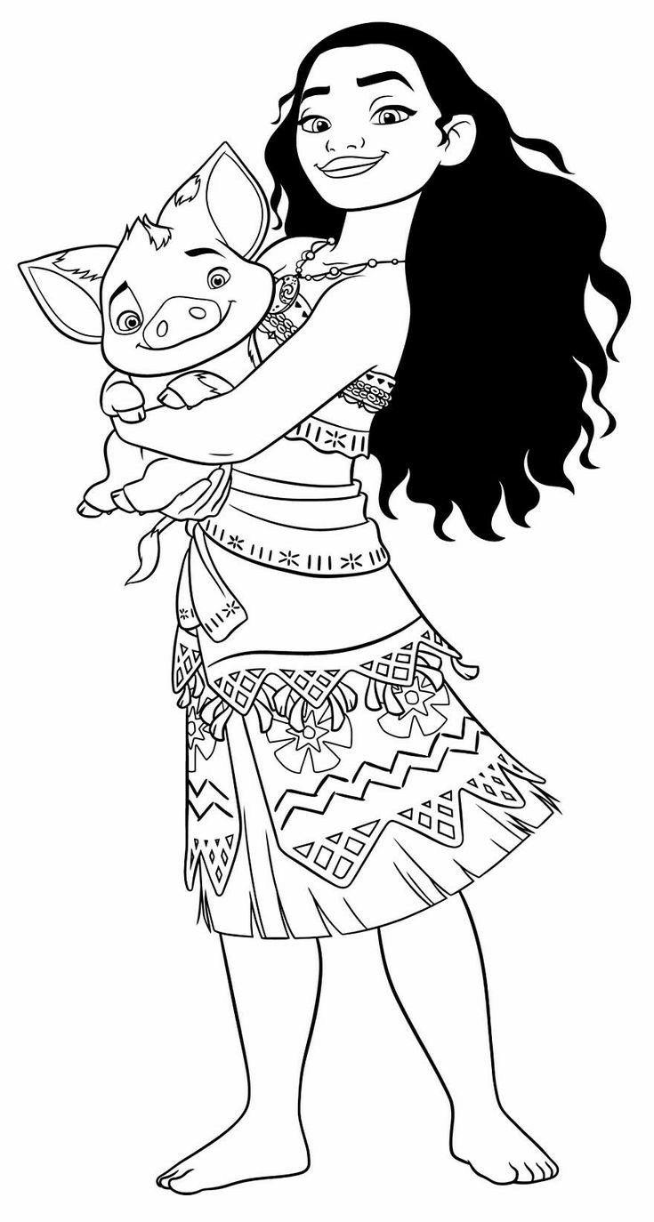 Moana Coloring Pages Moana Coloring Pages Moana Coloring Disney Princess Coloring Pages [ 1374 x 735 Pixel ]