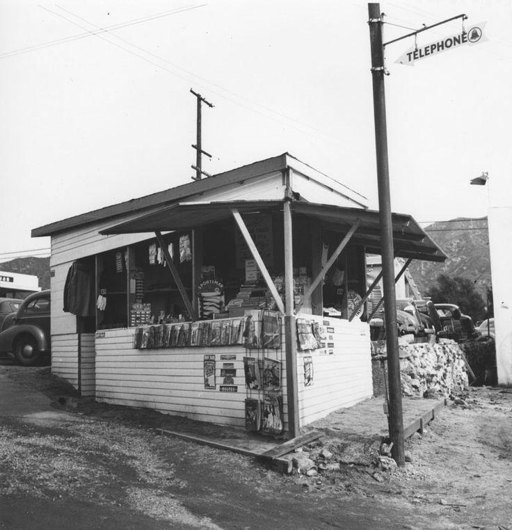 LOS ANGELES..ANSEL ADAMS...1940...