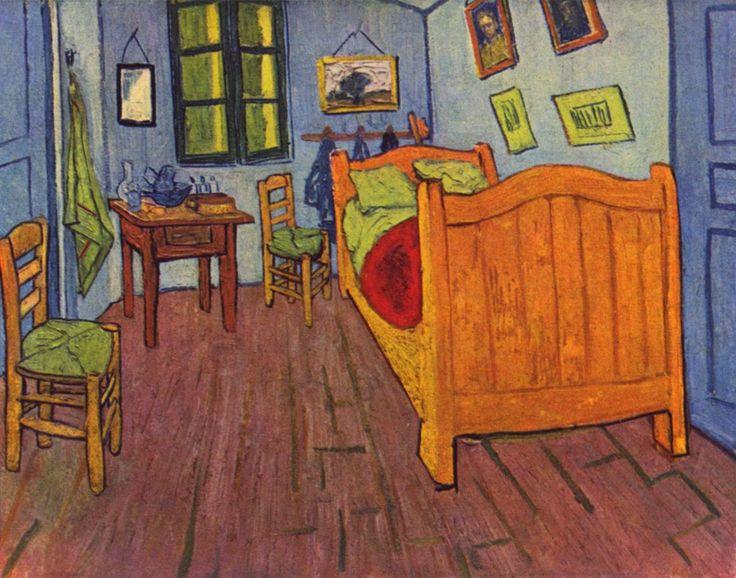 Blog de los niños: Habitación de Arles de Vincent Van Gogh