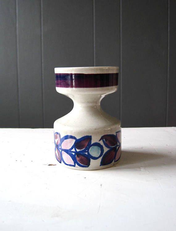 Vintage Stavangerflint CAMILLA Candleholder Designed by Inger