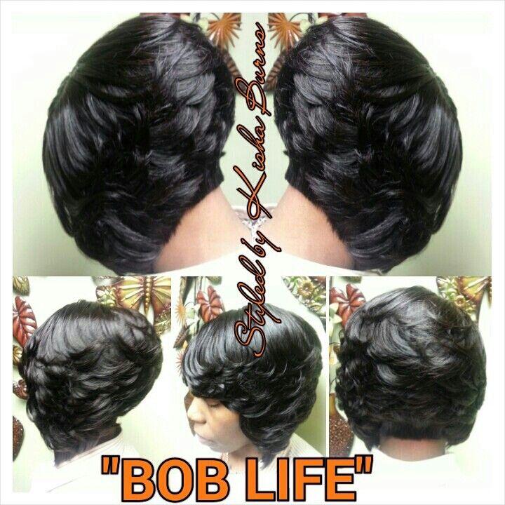 Feathered Bob Cute Hair Cuts Pinterest Hair Styles Bob