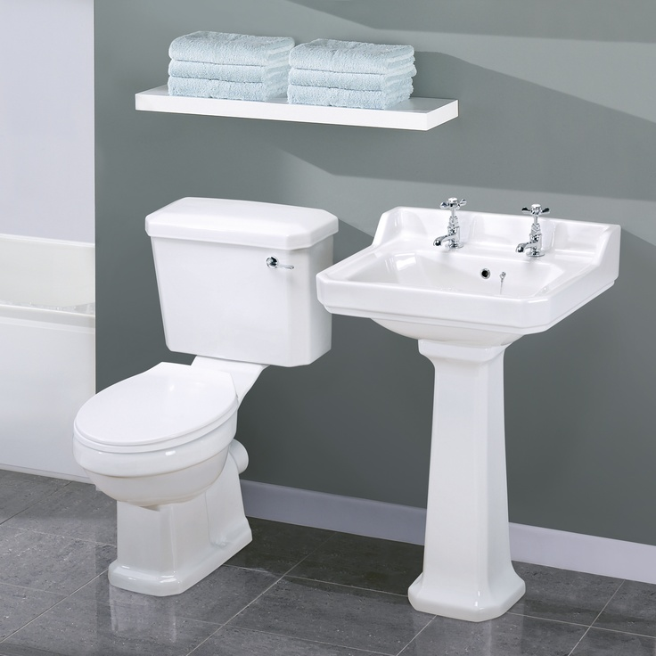 Carlton Traditional Toilet and Basin Set-One should think about who and how easy…   – Main floor bath/laundry
