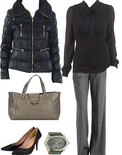 www.Fashionlike.gr - Stylish & Chic γυναικείο outfit για τη δουλειά. Σας αρέσει;  Βρείτε αναλυτικά τα προϊόντα του outfit και τιμές στο >>> http://bit.ly/18CSFbP