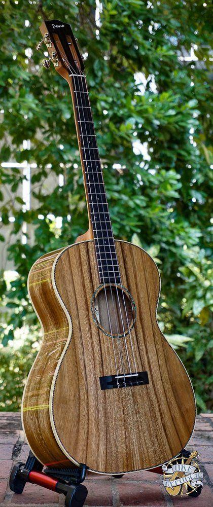Image of Pono Pro Classic BN-10 Solid Acacia Nui Baritone Ukulele