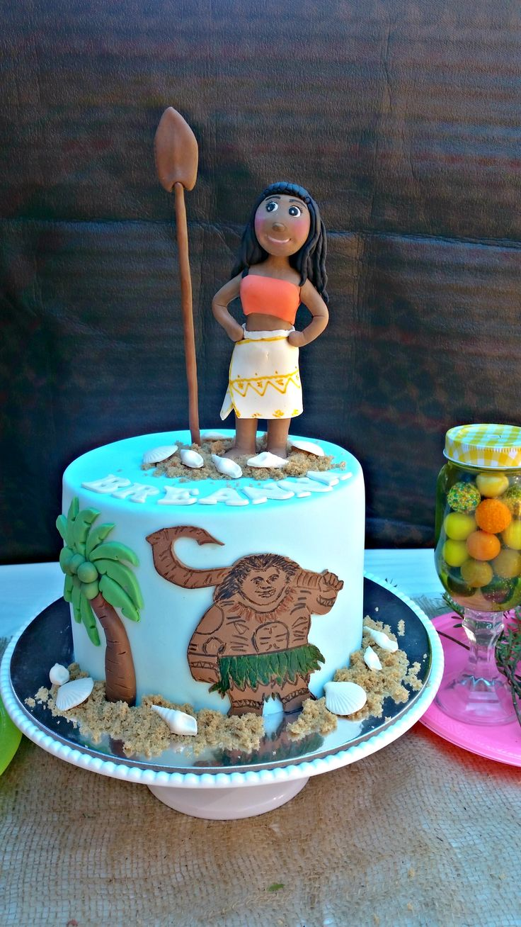 Moana cake for Breanna :)