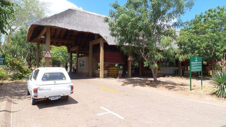 Kruger Gate entrance.