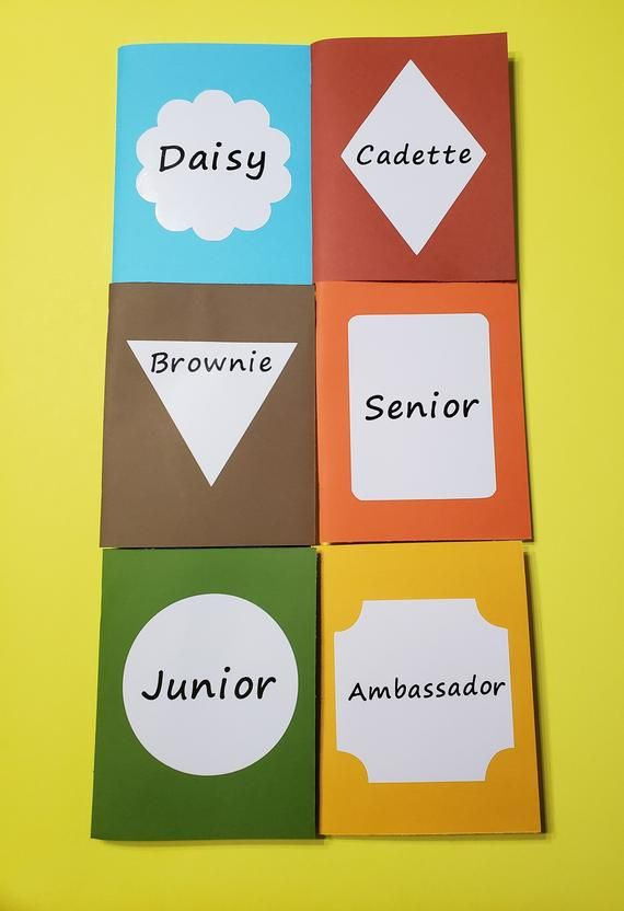 Personalized Girl Scout Badge, Journey, And Award Tracker -5025
