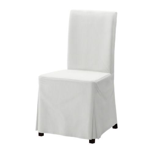 IKEA - HENRIKSDAL, Tuoli, ruskeanmusta, , Korkean selkänojan ja pehmustetun istuimen ansiosta tuolissa on mukava istua.Jalat ovat kestävää ja luonnollista massiivipuuta.Helppo pitää puhtaana konepestävän irtopäällisen ansiosta.Päällinen on esipestyä ja kulutusta kestävää paksua puuvillatwilliä.HENRIKSDAL-tuoliin sopiva pestävä irtopäällinen on helppo irrottaa ja laittaa paikoilleen.