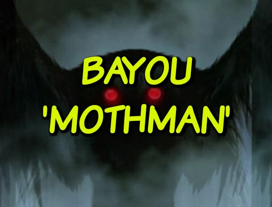 Bayou 'Mothman' - http://www.phantomsandmonsters.com/2017/10/bayou-mothman.html - mothman, The Mothman Prophecies, winged beings, unknown creature, unexplained encounter, eyewitness account, bizarre, Louisiana,