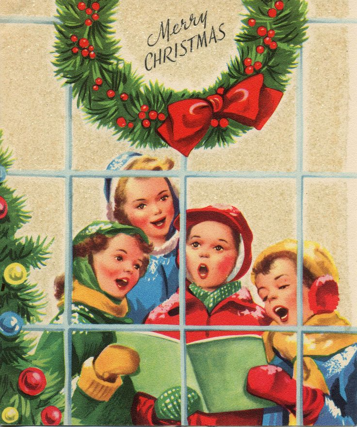Christmas Carolers Singers Vintage Decorations By: 17 Best Images About CHRISTMAS CAROLERS On Pinterest