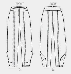 Marcy Tilton's Blog For Everyday Creatives: Chic & Slouchy Pant: Vogue 9035 - VERY detailed blog post about how to sew these pants (with some great general information about sewing all kinds of pants)