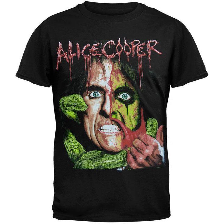 Alice Cooper - Snake Wrap Tour T-Shirt