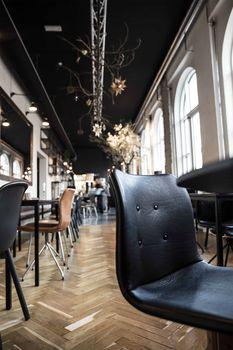 Café Orangeriet | Bent Hansen Primum Chairs at Orangeriet in Kalejdoskop in Aalborg #spisestuestol #diningchairs