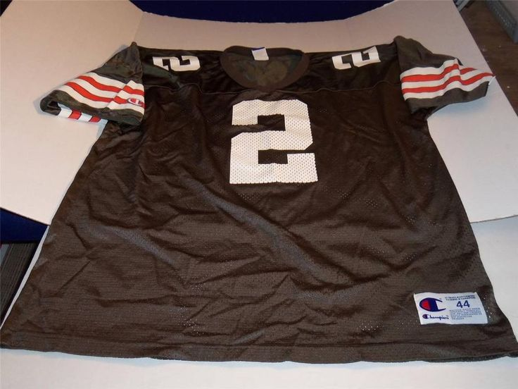 TIM COUCH CLEVELAND BROWNS  ADULT AUTHENTIC CHAMPION JERSEY SIZE 44 LARGE #Champion #ClevelandBrowns