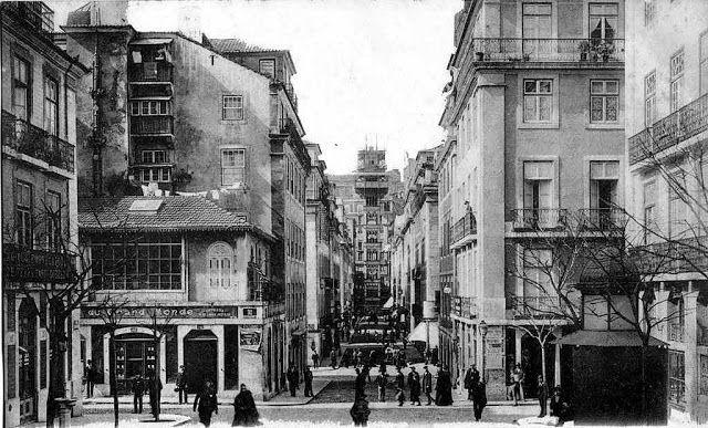 Rua de Santa Justa, 1906