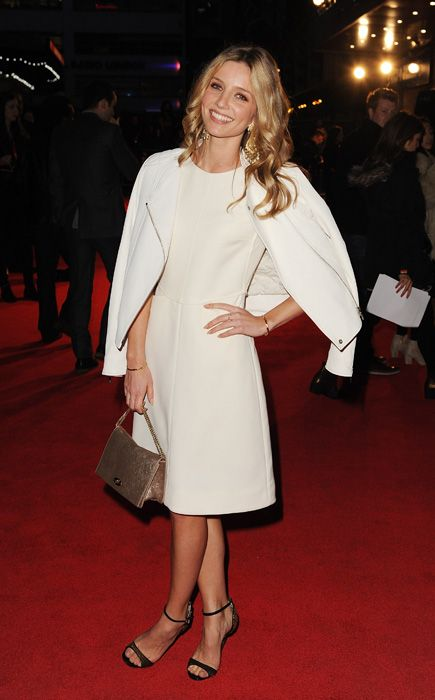 Annabelle Wallis at the London Film Festival premiere of Hello Carter