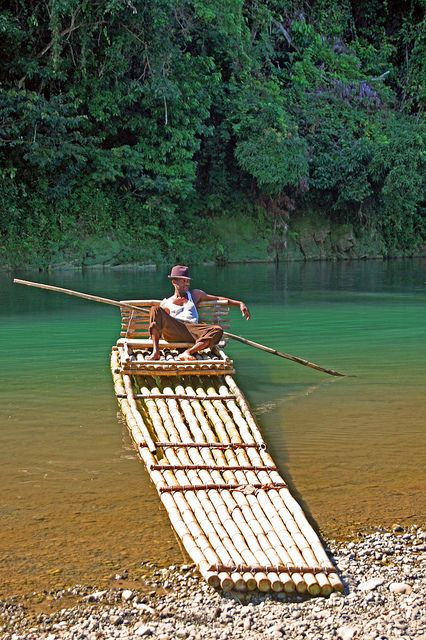 Rafting on the Rio Grande in Jamaica is one of the best ways to really understand the island vibe