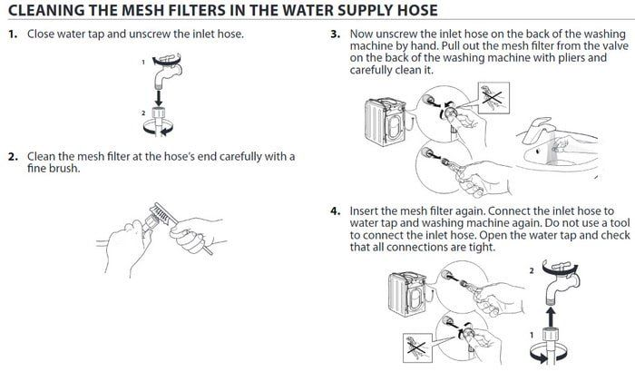 Whirlpool Washer Error Code Lf Long Fill Whirlpool Washer Whirlpool Washer