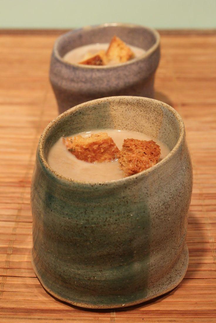 In Erika's Kitchen: Cream of mushroom soup