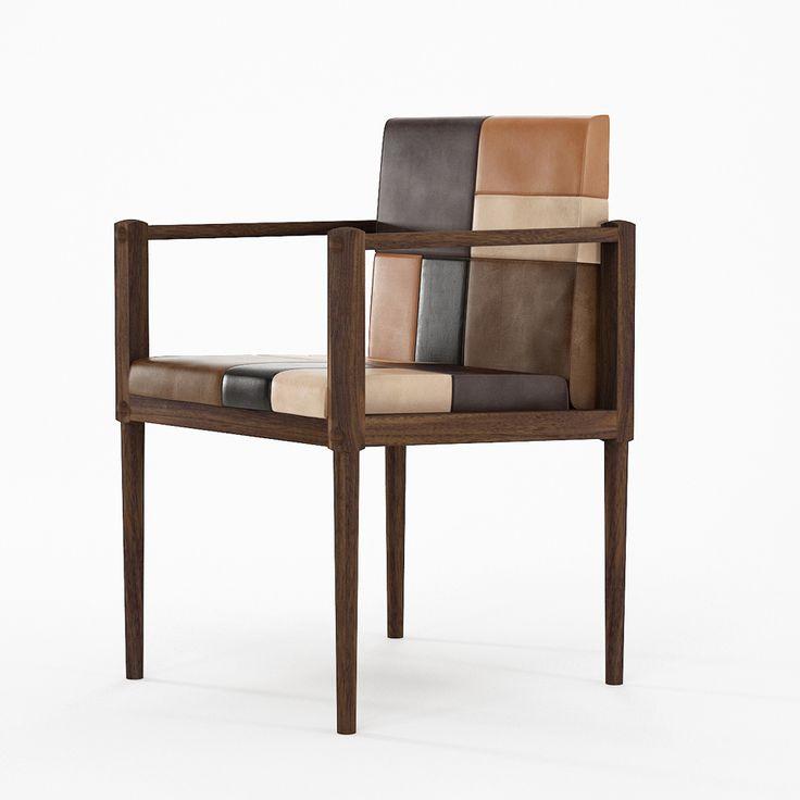 Кресло рабочее Katchwork, walnut
