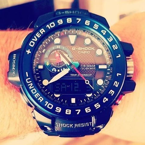 The only joy in the world is to begin. @handydesignharz #gshock