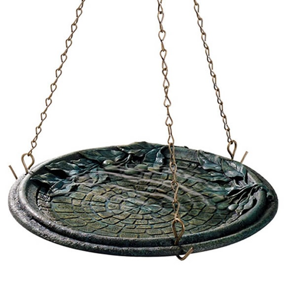 Amazing From Avantgardendecor.com · Birdscapes® Cobblestone Hanging Birdbath, Model  B8150 3 This Would Be Awesome To Hang