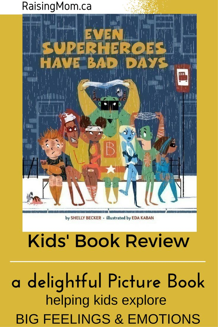 "Picture Book Review: Even Superheroes Have Bad Days What do you do when you're having a bad day? How do your feelings and emotions translate into the things you do and say? How about your kids? How do they deal with their 'bad days'? Most children nowadays are familiar with the concept of Superheroes. The brightly clad, larger than life characters show up in their books, movies, and even on their pajamas! Shelly Becker runs with this fad in her new book, ""Even Superheroes Have Bad Days.""…"