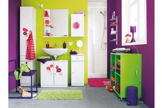Colorful Bathroom Decorating Ideas