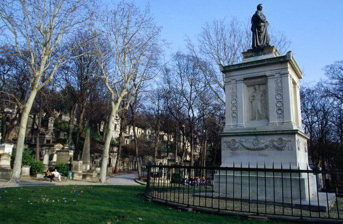 Cimetière du Père Lachaise - Kirkegård i Paris hvor bla. Jim Morisson, Oscar WIlde og Balzac ligger begravet.