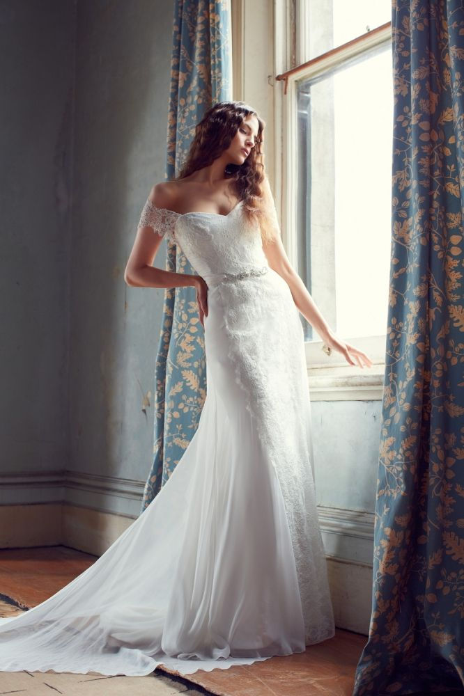 Illusion Wedding Dress from Karen Willis Holmes 2013 Collection