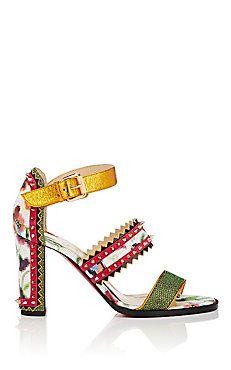 Montezumina Triple-Strap Sandals
