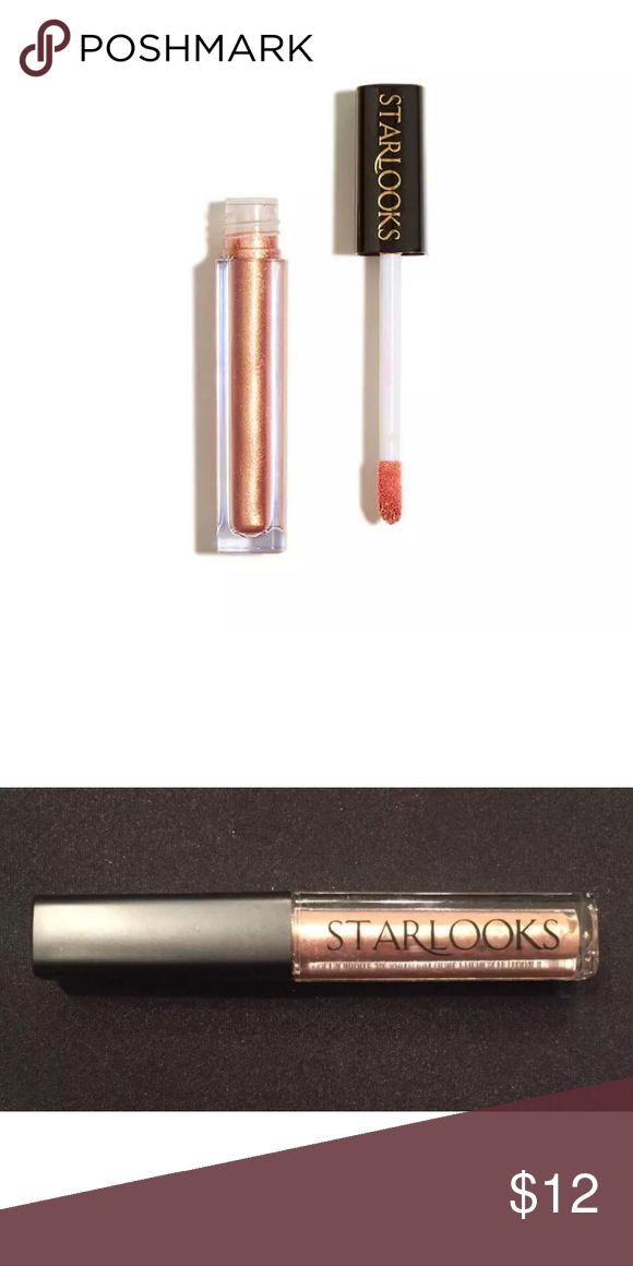 "⭐️Starlooks Cream Eyeshadow, ""Rose Gold"" 🌹📀 Brand new & factory sealed; Starlooks Cream Eyeshadow in shade ""Rose Gold""  This metallic rose gold shade glides on smoothly and gives our eyes just the right amount of sparkle. Speed demon. Dries quickly to a shimmering finish. Goes both ways. Doubles as a liner for perfectly defined eyes. Lasts through literally anything–from workout to night out.  Highlights: Brand - Starlooks What is it? - Shimmer Cream Eyeshadow Shade - Rose Gold…"