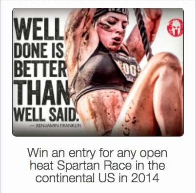 Spartan Race Giveaway