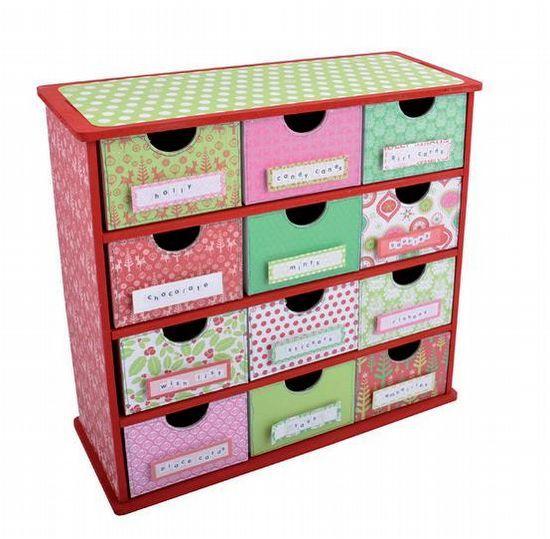 Request Item* Kaisercraft 12 Drawer Storage Box SB2134 - Artfull ...