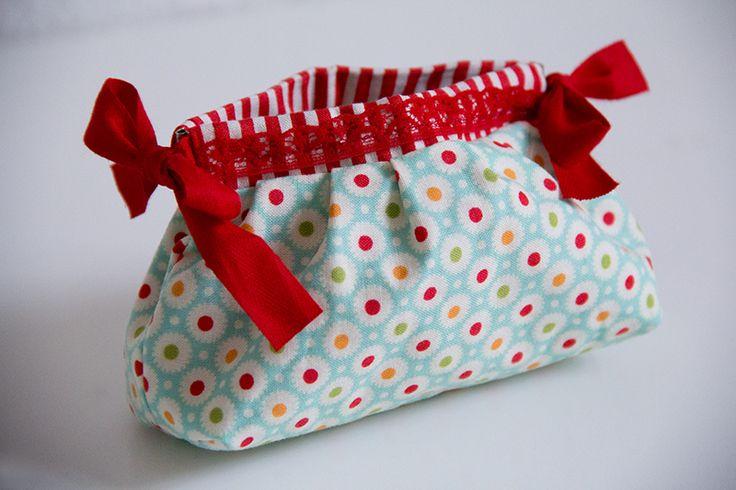 Tasche mit Schnappverschluss