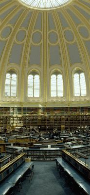 The British Museum Reading Room.