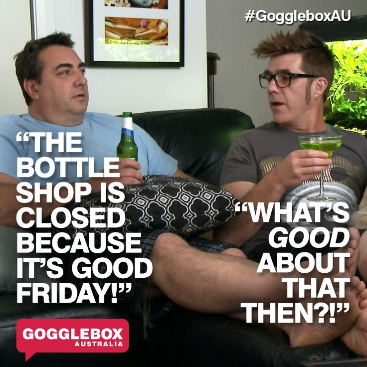 Gogglebox Australia - Wayne and Tom
