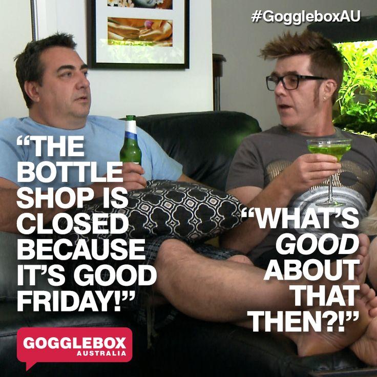 Gogglebox Australia - Wayne and Tom